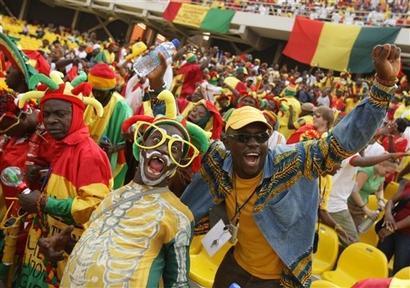 Guinea fans