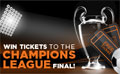 Win Tickets to The Champions League Final at Wembley!!