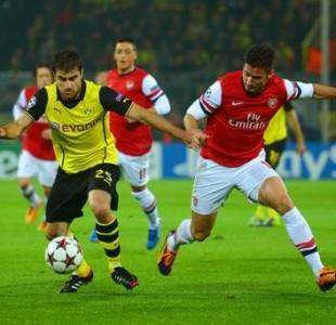 Borussia Dortmund vs Arsena;